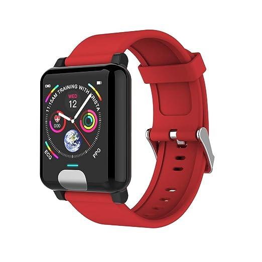 WANGOFUN Smartwatch Impermeable IP67 Pulsera conectada Cardio ...