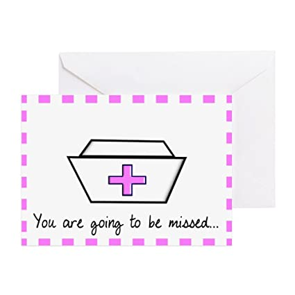CafePress - jubilado enfermera tarjeta 2 - Tarjeta de ...