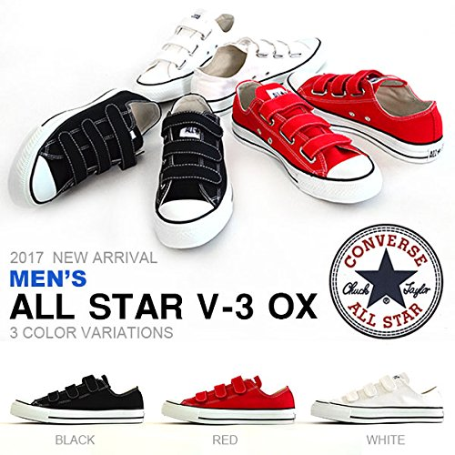 88c1c338a9d227 Amazon | [コンバース] ALL STAR メンズ オールスター V-3 OX ベルクロ ローカット キャンバス シューズ 靴 as-v3-ox-m  | CONVERSE(コンバース) | スニーカー