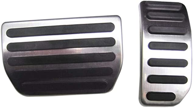 9 MOON Stainless Steel Gas Pedal Brake Pedal for VOLVO XC60 V60 S60 S40 C30