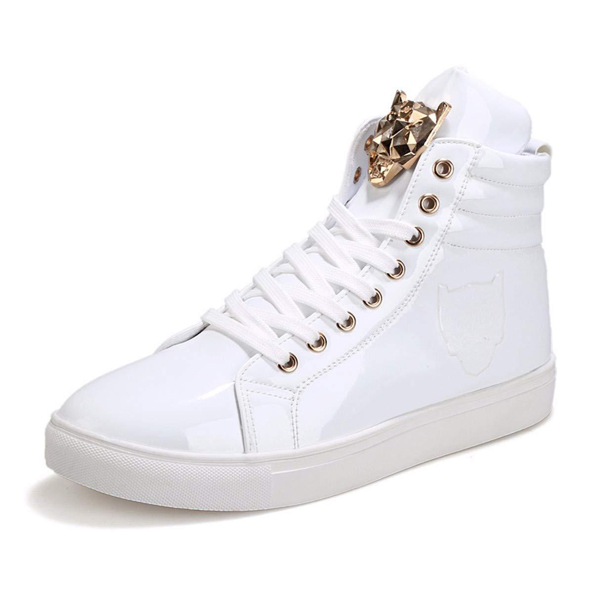 KMJBS-Au Printemps Les Chaussures De Sport British Chaussures Chaussures Montantes Personnalité Jeunes Étudiants Étudiants.Black Quarante - Quatre
