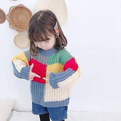 Miminuo Jersey Familia Y Bebe,Nuevos suéteres Flojos de Color para ...