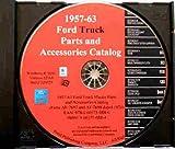 P350/500 B500, E350/500, F100/F500 FORD PICKUP & TRUCK MASTER PARTS & ACCESSORIES CATALOG CD 1957 1958 1959 1960 1961 1962 1963