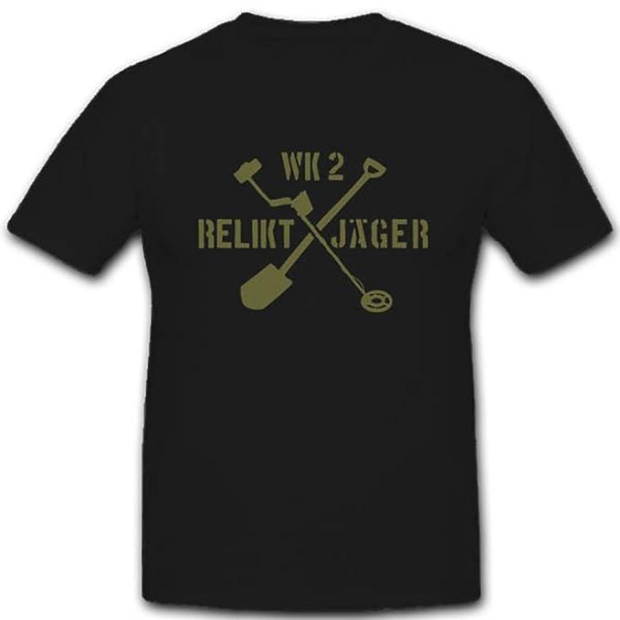 Copytec Suelo Fund relikt Cazadores WK Detector de Metales schatzsuche excavación Historia - Camiseta # 2840: Amazon.es: Ropa y accesorios
