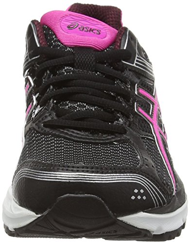 Asics Gel-pulse 7 G-tx - Zapatillas de running Mujer Negro (Black/Pink Glow/Royal Burgundy 9035)
