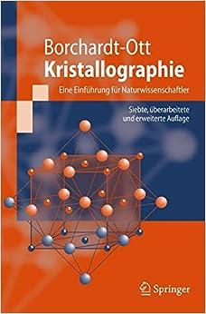 Book Kristallographie: Eine Einführung für Naturwissenschaftler (Springer-Lehrbuch)