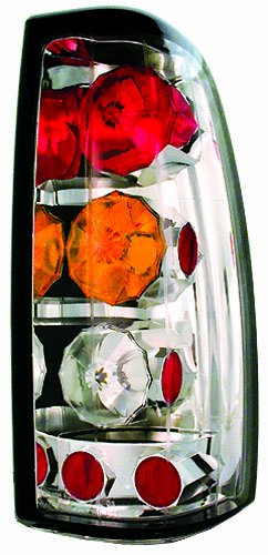 - IPCW CWT-CE3039CA Crystal Eyes Crystal Amber/Clear/Red Tail Lamp - Pair