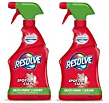 Resolve Upholstery Cleaner & Stain Remover, 22oz Bottle, Multi-Fabric Cleaner (2)