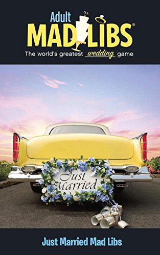 Just Married Mad Libs Adult