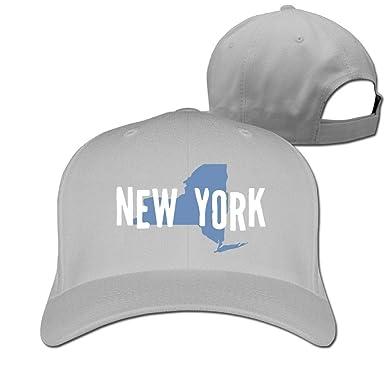 Pimkly Unisexo Sombreros/Gorras de béisbol, State of New York-1 ...