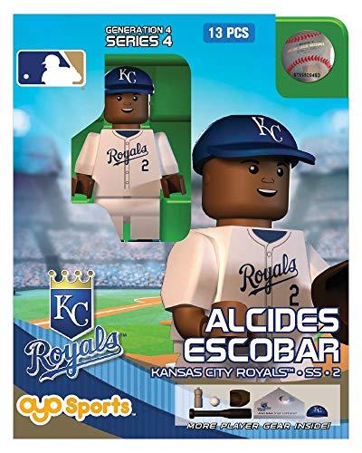 Alcides Escobar OYO MLB Kansas City Royals G4 Series 4 Mini Figure Limited -