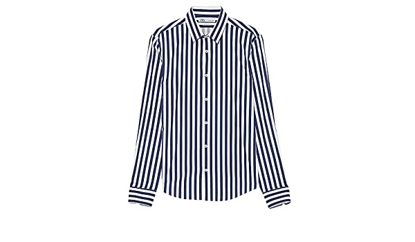 b133e0d2 Zara Men Striped Shirt 4084/471 Pink at Amazon Men's Clothing store: