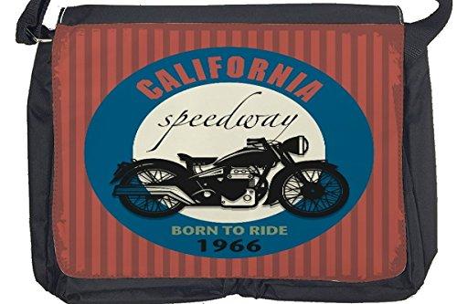 Borsa Tracolla Garage California Speedway Stampato