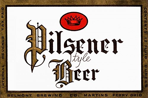 Pilsener Style Beer by Vintage Booze Labels - 15