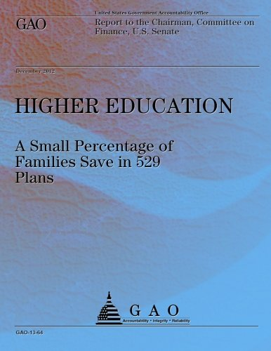Download Higher Education: A Small Percentage of Families Save in 529 Plans PDF