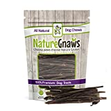Nature Gnaws Extra Thin Pork Bully Sticks 5-6