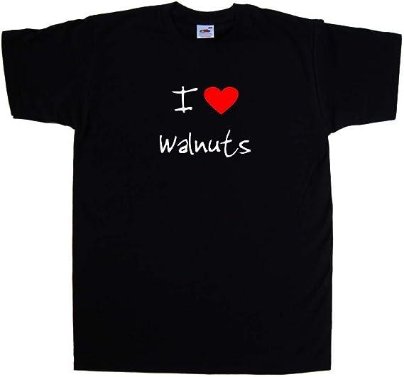 I Love Heart Walnuts T-Shirt