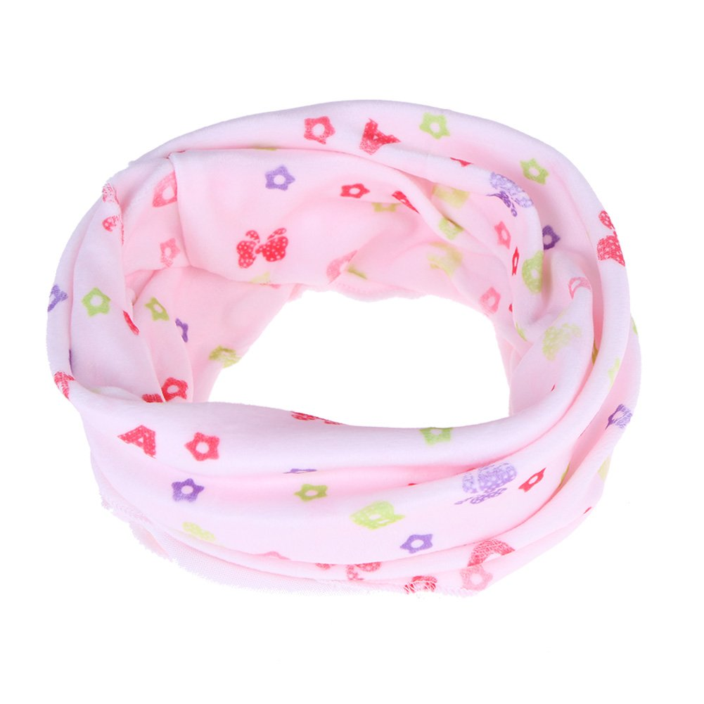Domybest Fall Winter Snood Scarf Baby Kids Soft Cotton Neckerchief Neck Collars 160724.01