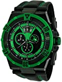 Stuhrling Original Men's 220XL.332P571 Sportsman Falcon Blazer Swiss Quartz Multi Function Green Watch