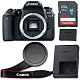Canon EOS 77D 24.2 MP CMOS Digital SLR Camera with 3.0-Inch LCD (Body Only) - Wi-Fi Enabled (Certified Refurbished)