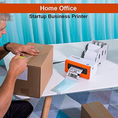Comer Shipping Label Printer - Commercial Grade Direct Thermal High Speed Printer for Barcodes,Labels,Mailing,Shipping and More-150mm/s-4x6 Printer