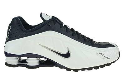 Sneaker Lifestyle Men Nike Shox Weiß R4 Schuhe Blau Eu QdhCrts