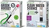 Homemade Water Filtration System 4M Green Science 2-Pack: Green Rocket, Clean Water Science