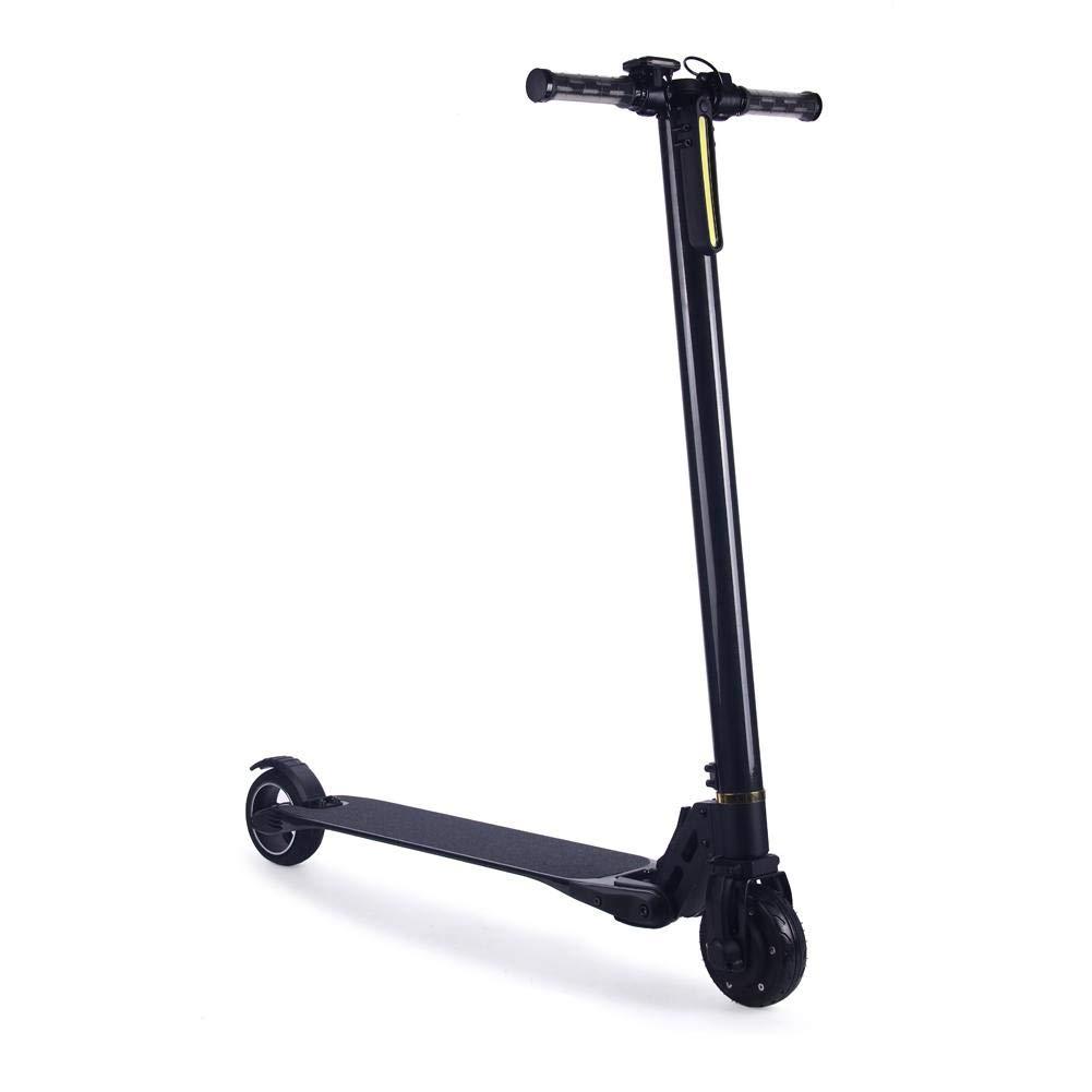 H-sunshy Scooter eléctrico Plegable Negro Ancho Ruedas Ultra ...