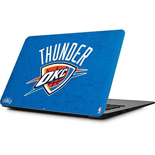 Skinit NBA Oklahoma City Thunder MacBook Air 11.6 (2010-2016) Skin - Oklahoma City Thunder Primary Logo Design - Ultra Thin, Lightweight Vinyl Decal Protection by Skinit