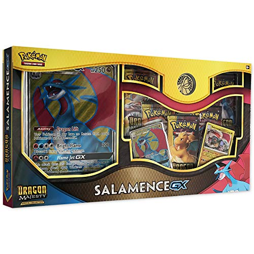Pokemon TCG: Dragon Majesty Special Collection Salamence GX Box