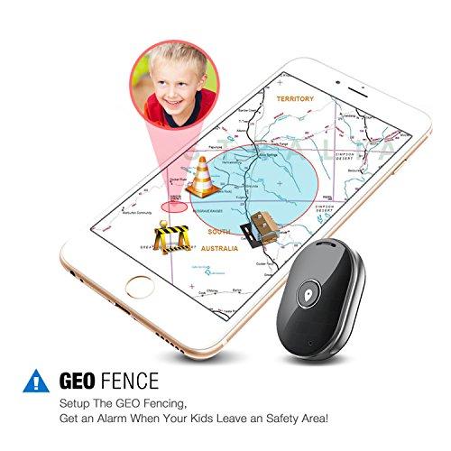 vogek mini gps tracker portable gps tracker locator for kids elder car pet luggage with sos and. Black Bedroom Furniture Sets. Home Design Ideas