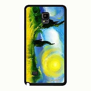 Special Hybrid Van Gogh Phone Case Cover For Samsung Galaxy Note 4 Van Gogh Picture Unique Design