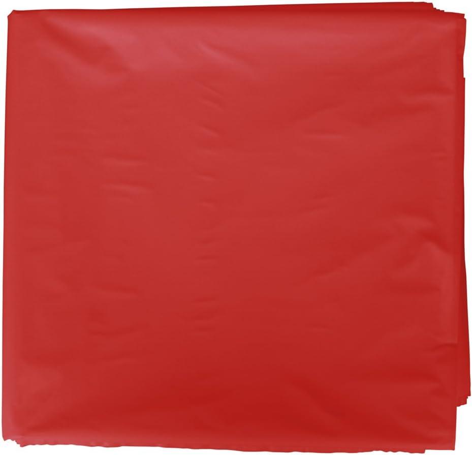 Fixo Kids 72051. Pack de 25 Bolsa Disfraz, 65 x 90cm, Color Rojo