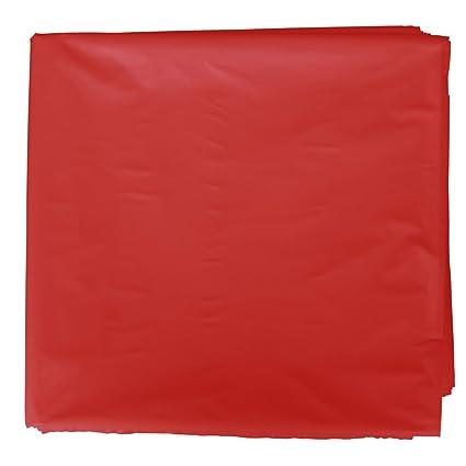 Fixo Kids 72251. Pack de 25 bolsas disfraz, 56 x 70 cm, color rojo