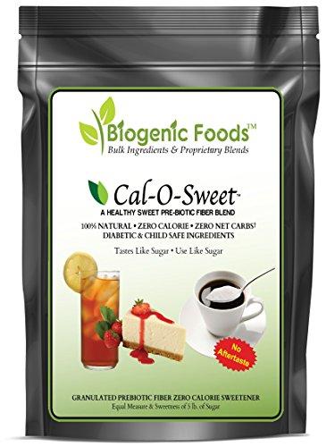 (Cal-O-Sweet (TM) - NO-Aftertaste All Natural Zero Calorie & Carb Sugar-Free Sweetener & Pre-Biotic Fiber, 14 oz)