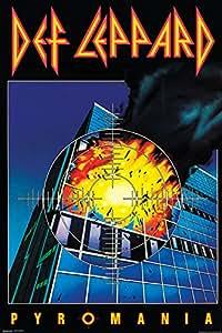 "Def Leppard Poster - Pyromania (24""x36"")"