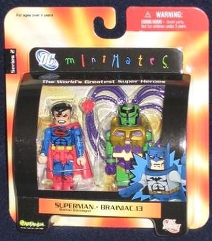 DC Minimates Series 2 Battle Damaged Superman