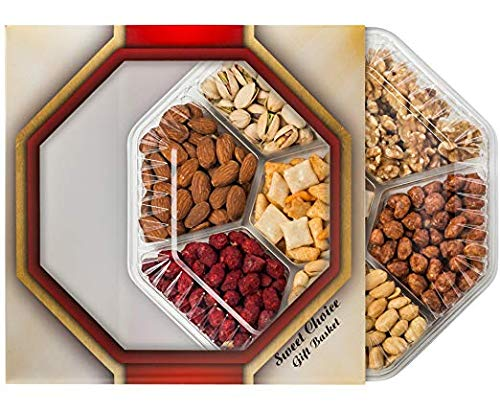 Assorted Nuts Gift Baskets(7-Flavors) , New Year