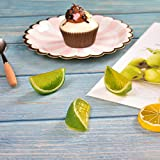 Hagao Fake Lemon Block Artificial Fruit Wedge Slice