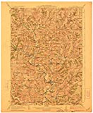 YellowMaps Blanchardville WI topo map, 1:62500 Scale, 15 X 15 Minute, Historical, 1923, 20.38 x 16.82 in