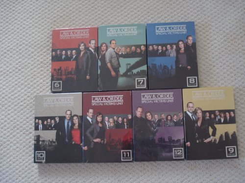Law & Order: Special Victims Unit SVU Series Seasons 7-12