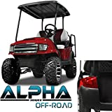 NEW!!! Club Car Precedent ALPHA Off Road Style Body Kit in Red