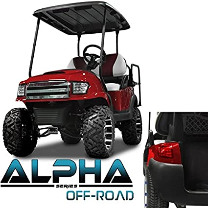 Madjax NEW!!! Club Car Precedent ALPHA Off Road Style Kit in Red on