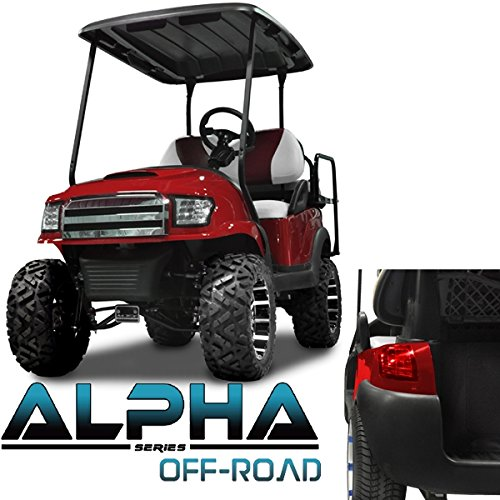 Club Car Replacement Body (Club Car Precedent ALPHA Off-Road Body Kit in Red (Fits 2004-Up))