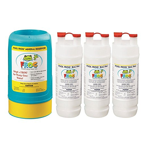 Pool Frog Mineral Purifier Replacement Above Ground Value Pack by Pool Frog