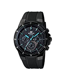 Casio Men's Edifice EF552PB-1A2V Black Resin Quartz Watch