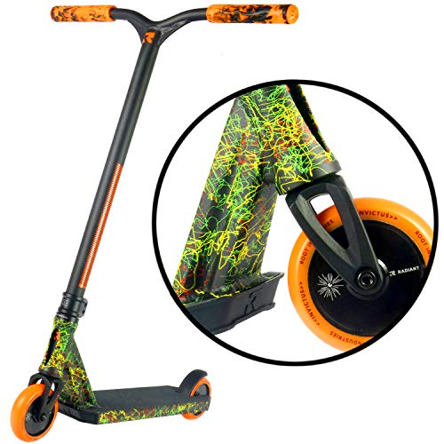 Invictus Complete Scooter - Stunt Scooters - Scooter profesional para cualquier jinete de edad - Pro Scooters para niños Pro Scooters para adultos - Pro Scooter Deck, Pro Scooter Wheels - Ready to Ride Trick Scooter