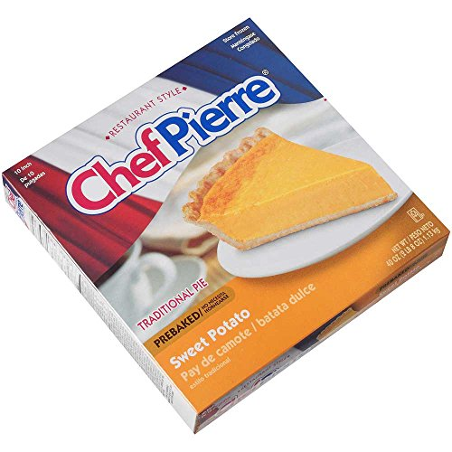 Sara Lee Chef Pierre Pre Baked Sweet Potato Open Face Specialty Pie, 10 inch - 6 per case. by Sara Lee (Image #2)