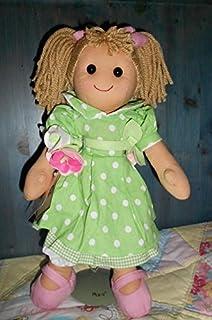 Bambola My Doll vestito pois bianchi con cintola di rose 42CM 45d911442de