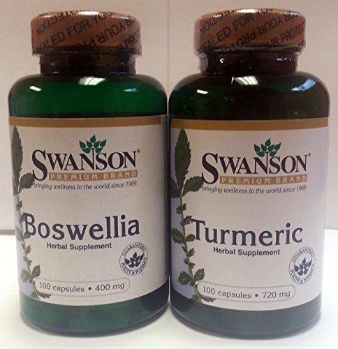 Swanson Boswellia Curcumin combo Total product image